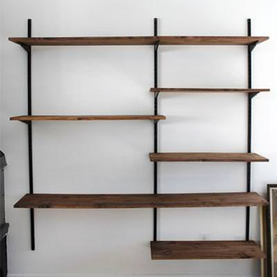 DIY Mounted Shelving System {Shelving}