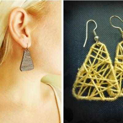 DIY Paperclip Earrings {Tutorial}