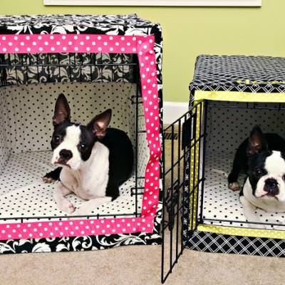 Dog Crate Bumper Pads {free pattern}