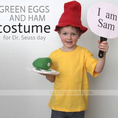 Dr. Seuss Day Costume {Books}