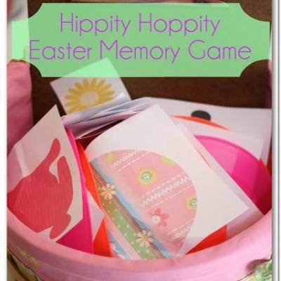 Easter Memory Game {Easter Games}