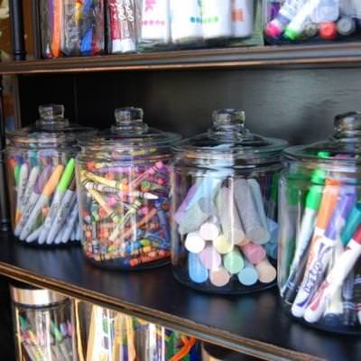 Easy Access Art Supplies {Art}