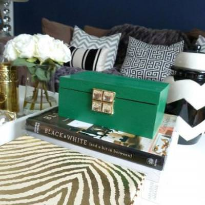 Emerald Green Decorative Box {Decorative Boxes}