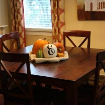 Everyday Fall Table Decor {Tablescape}