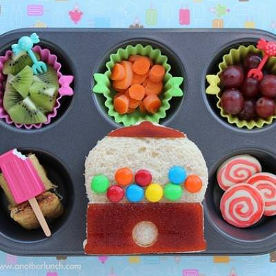 Faux Candy Lunch in a Tin