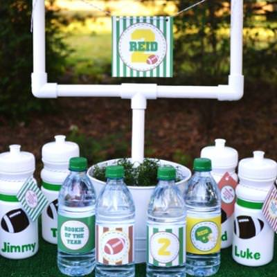 Football Tailgate Party {themed party idea}