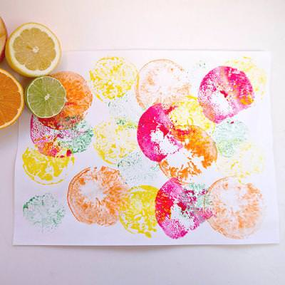Fruit Painting Project {Art}