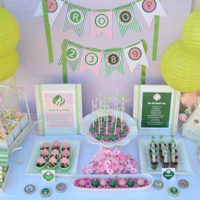Girl Scout Party {free printables}