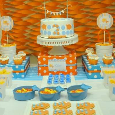 Goldfish Birthday Party {party food}