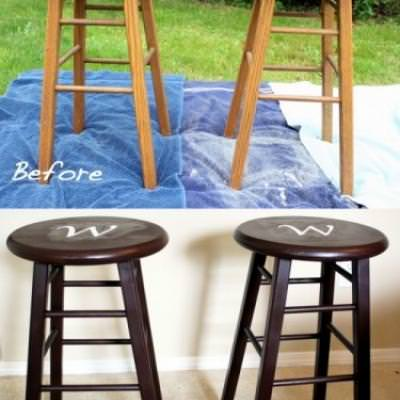 His & Hers Bar Stools {Stools}