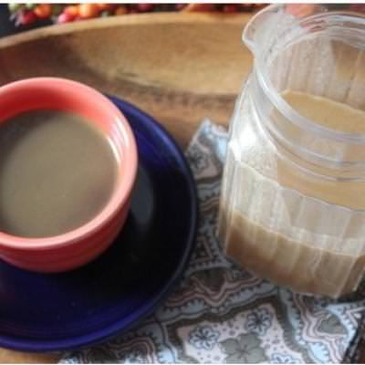 Homemade Dairy-Free Pumpkin Spice Coffee Creamer