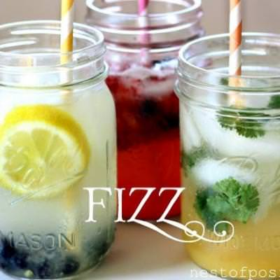 Homemade FIZZ Blended Drinks