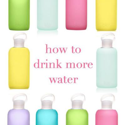 How to Drink More Water {Healthy Lifestyle}