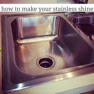 How to Make Your Stainless Shine {Spring Cleaning}