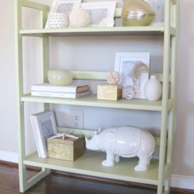 How to Style a Bookcase {Bookcase Decor}