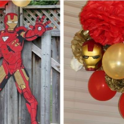Iron Man Birthday Party party games Tip Junkie
