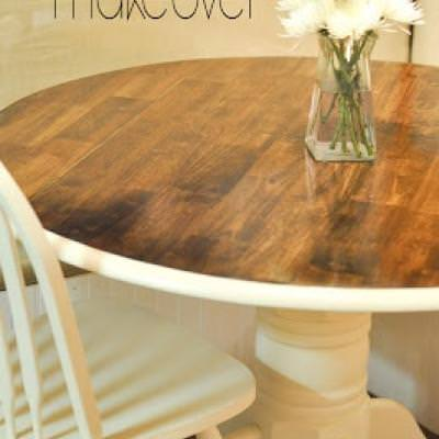 Kitchen Table Makeover {Trash to Treasure}