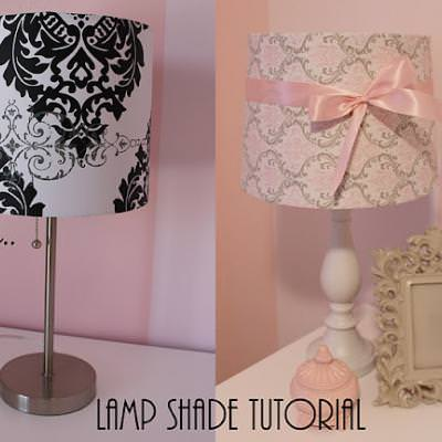 Lamp Shade Makeover {Lamps}