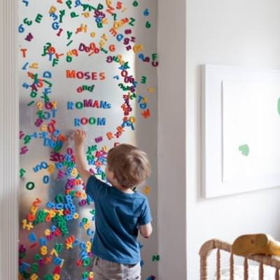 Large Metal Magnent Board {Learning Letters}