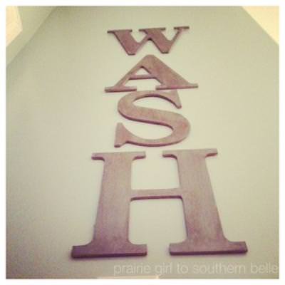 Laundry Room Wall Art {Laundry Room Decor}