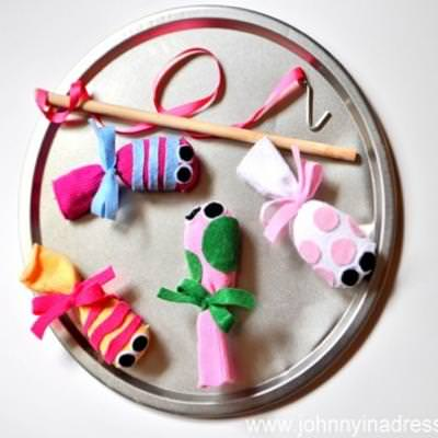 Make your own felt fishing game tip junkie for Create your own fish