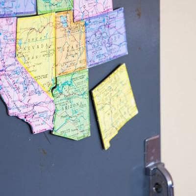 Map Magnets {Geography}