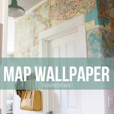 Map Wallpaper {Wallpaper}