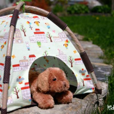 Mini Play Tent Pattern {Kids}