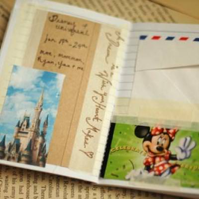 Mini Take-Along Travel Journal {Creating Memories}