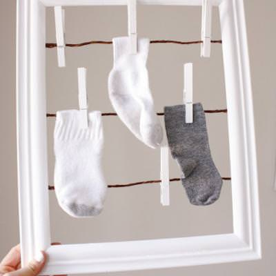 Missing Sock Keeper {Laundry Room}