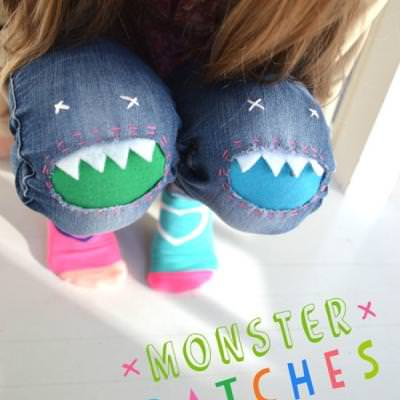 Monster Patches {Kids Clothing}