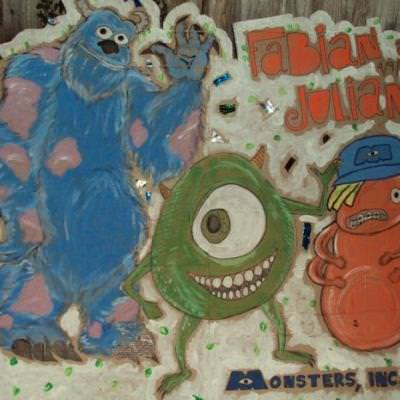 Monsters Inc Birthday {party games}