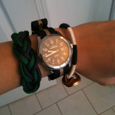 Nautical Rope Bracelet DIY {Bracelets}