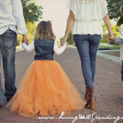 No-Sew Full Tulle Skirt {Tulle}