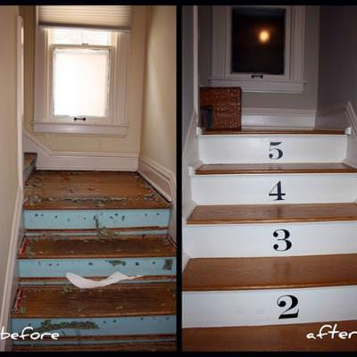 Numbered Staircase {Stairways}