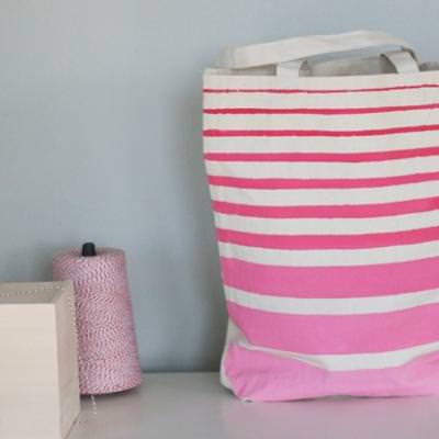 Ombre Tote Bag {Totes}