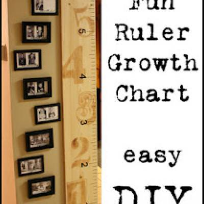 Picture & Ruler Growth Chart {Milestone}