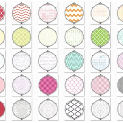 Printable Scrapbook Paper And Overlays