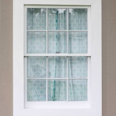 Reframing Old Window Frames {Home Renovations}