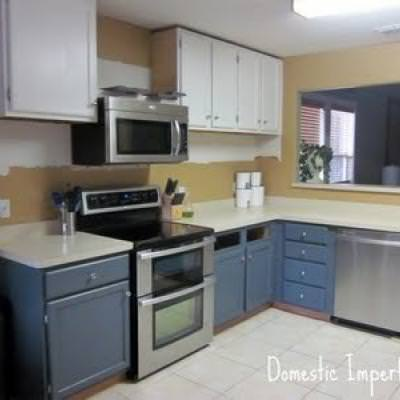 Rehanging Cabinets Higher {Kitchen Renovations}