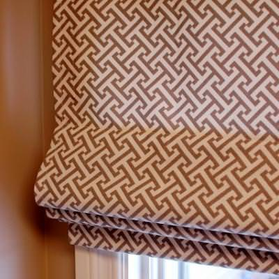 Roman Shade Sewing Tutorial {Home Decor}