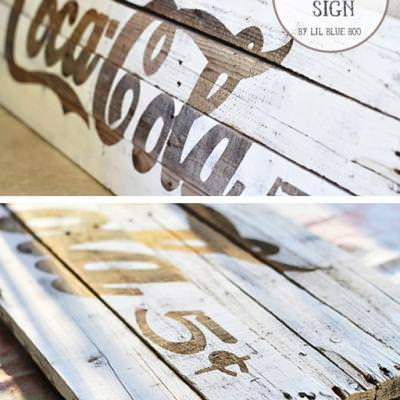 Rustic Palette Sign Tutorial {DIY Decor}