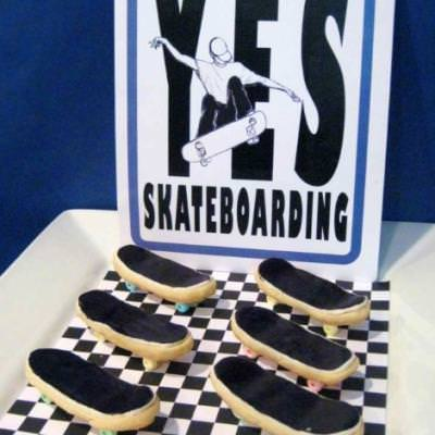 Skateboard Birthday Party {boys birthday party ideas}
