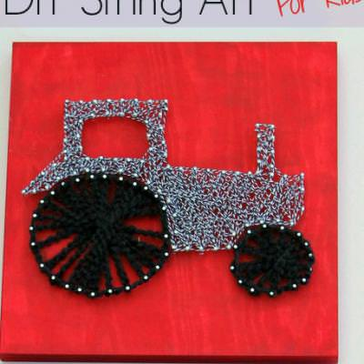 String Art for Kids {Games and Activities}