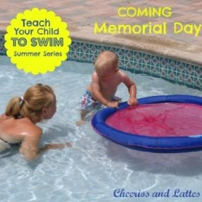 Swimming Lessons for Beginners {Summer Activities}
