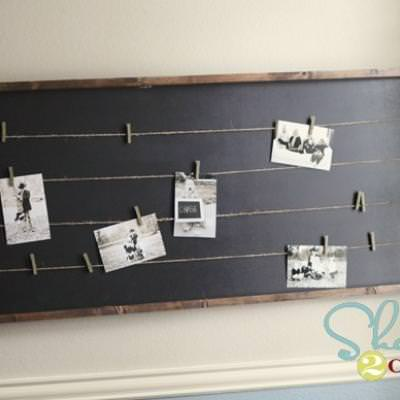 Teen Bedroom Memory Board