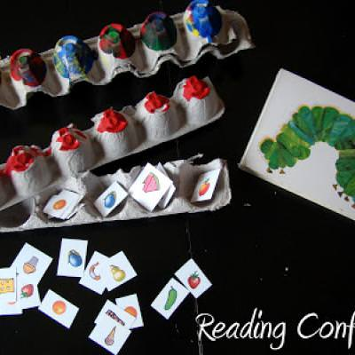 The Hungry Caterpillar Activity and Printable {Books}