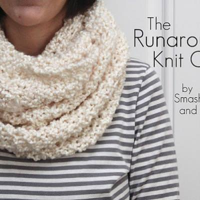 The Runaround Knit Cowl Tutorial {Wearable}