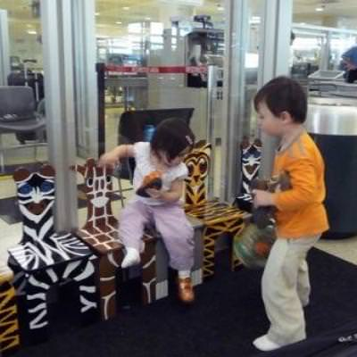 Tips on Flying with Children {Traveling with Kids}