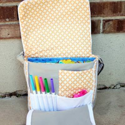 Toddler Messenger Bag {Bags & Backpacks}